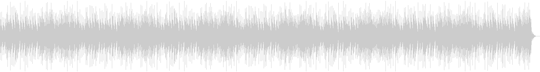 Sentimental and relaxed music box song's unreproduced waveform