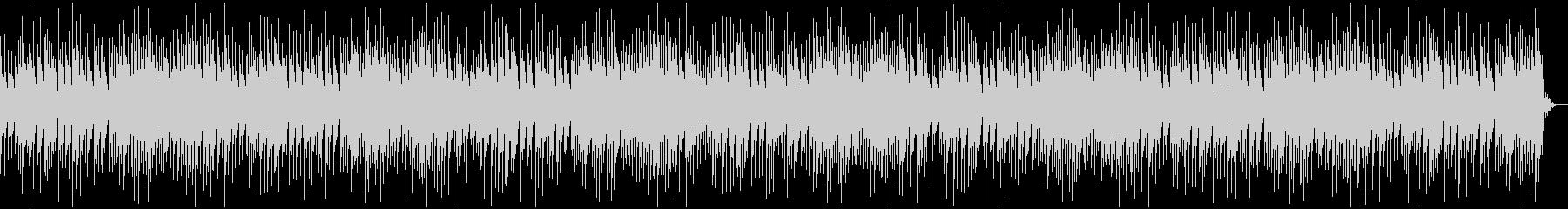 センチメンタルでゆったりしたオルゴール曲の未再生の波形