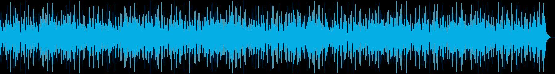 センチメンタルでゆったりしたオルゴール曲の再生済みの波形
