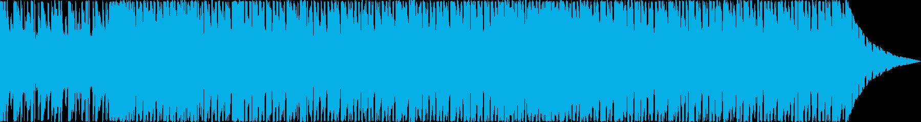 DanceTecno系30sの再生済みの波形