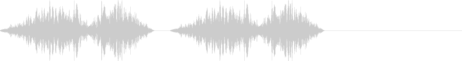 DJプレイ スクラッチ・ノイズ 201の未再生の波形