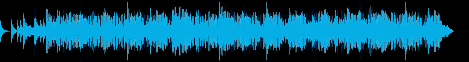 ホラー、ハロウィンイメージの曲の再生済みの波形