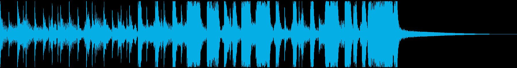 華やかなビッグバンド・スウィングジャズの再生済みの波形