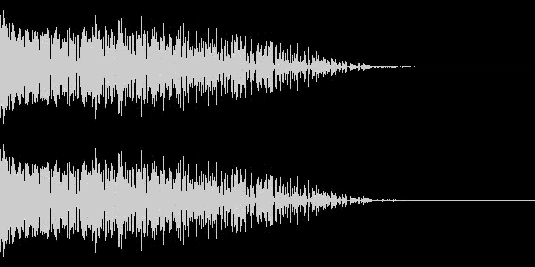 シャー(ノイズ/金属音/高音/衝撃の未再生の波形