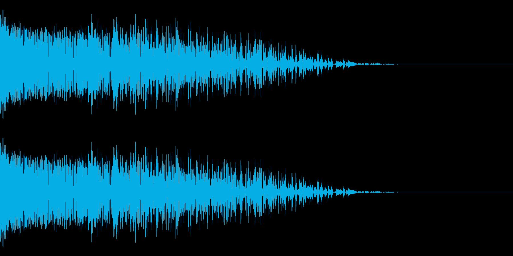 シャー(ノイズ/金属音/高音/衝撃の再生済みの波形