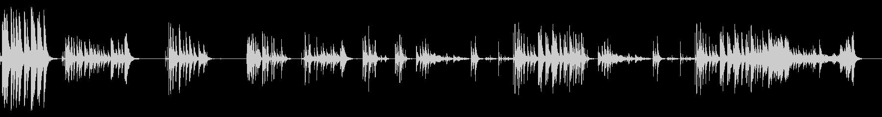 電磁衝突の未再生の波形