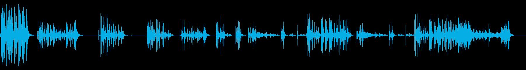 電磁衝突の再生済みの波形