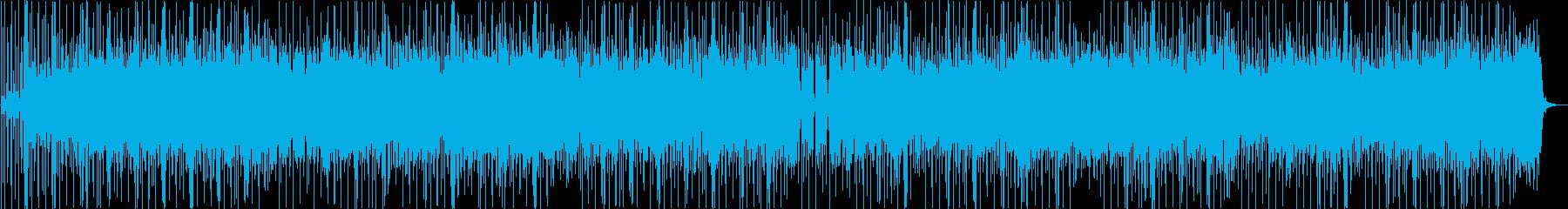 ファンク、活気、エネルギッシュ、の再生済みの波形