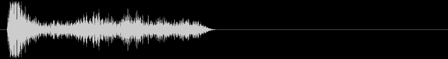DJ スクラッチ ズクズク デュクデュクの未再生の波形