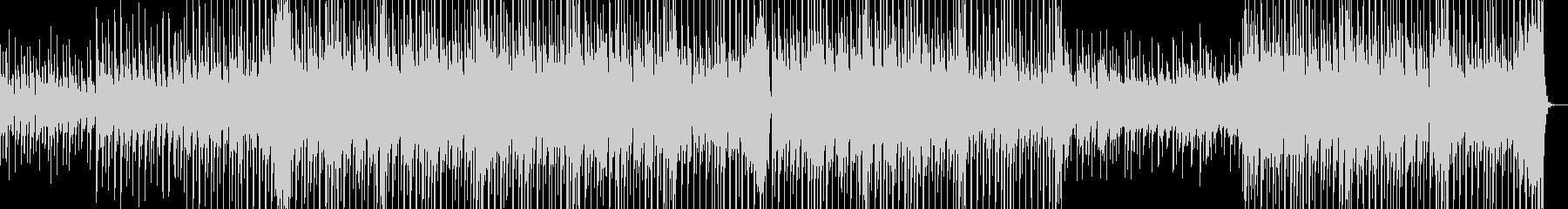 ちょっと切なくてかわいい感じの曲の未再生の波形