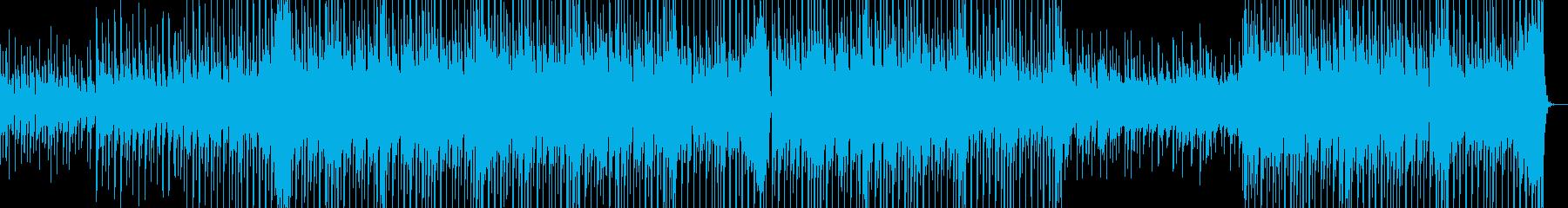 ちょっと切なくてかわいい感じの曲の再生済みの波形