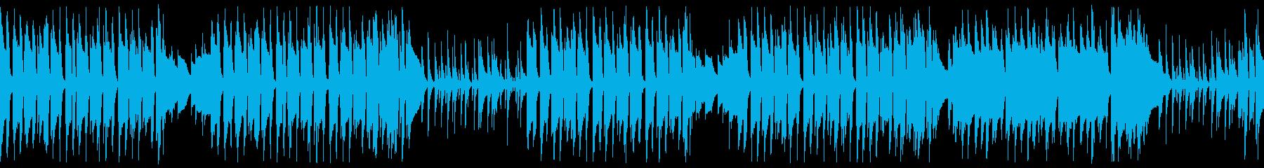 遊びに夢中の可愛いペット ループ仕様の再生済みの波形