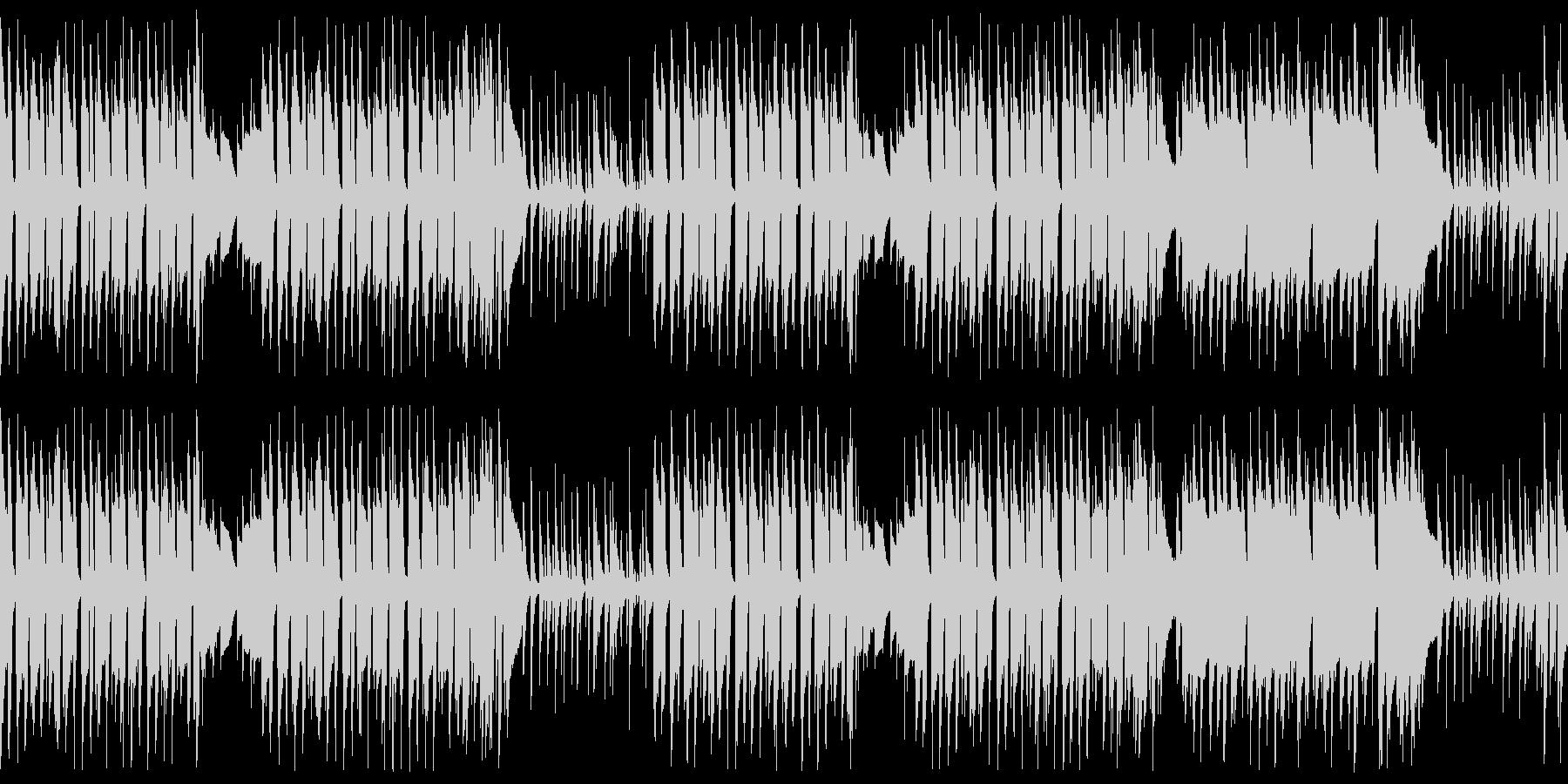 遊びに夢中の可愛いペット ループ仕様の未再生の波形