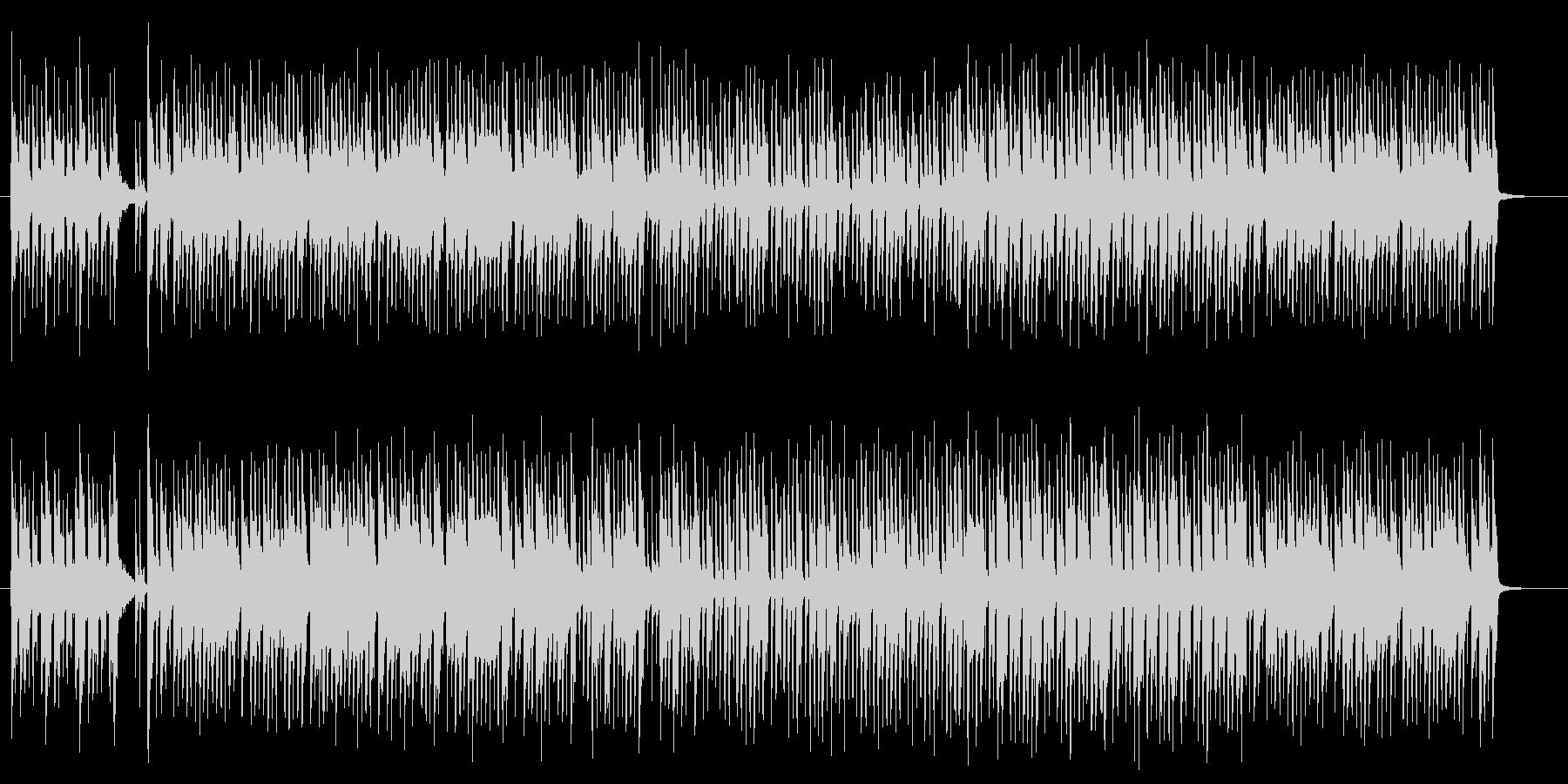 妖艶なエキゾチックサウンドの未再生の波形