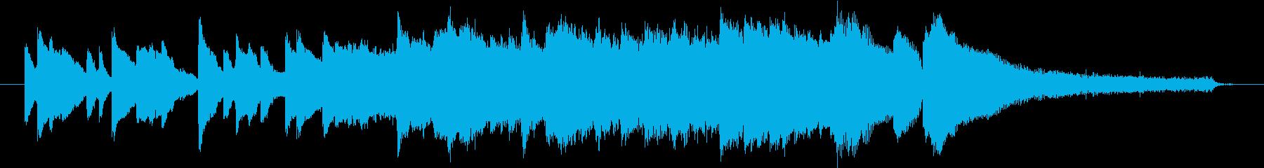 オープニングやエンディングテーマの再生済みの波形