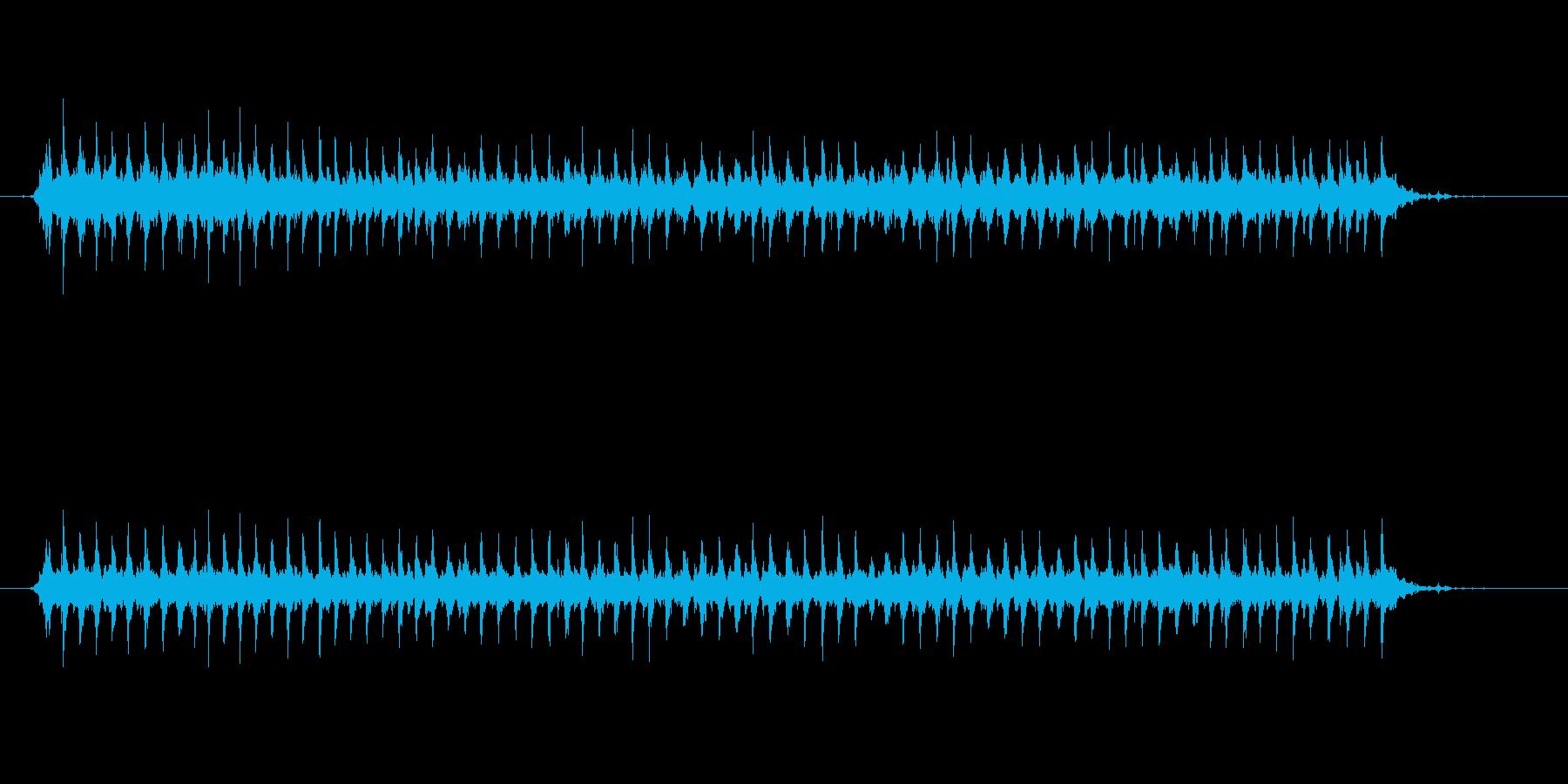 ジングルベル、スロー、ミュージック...の再生済みの波形