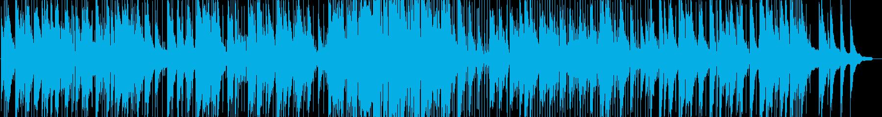 ゆったりとしたピアノトリオ(オリジナル)の再生済みの波形