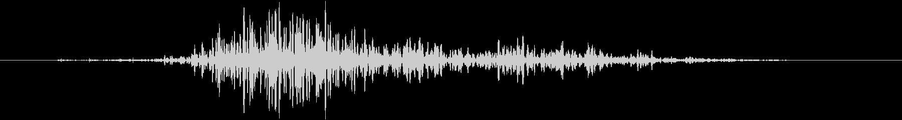 シングルフレームバーストの未再生の波形