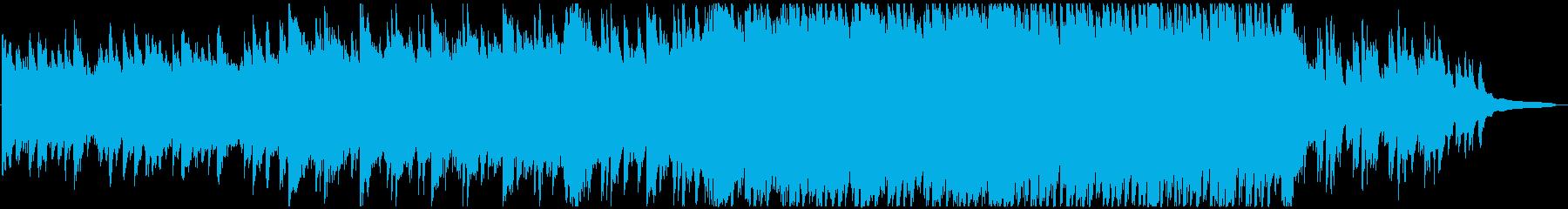 VP系12A、感動的ピアノ&オーケストラの再生済みの波形