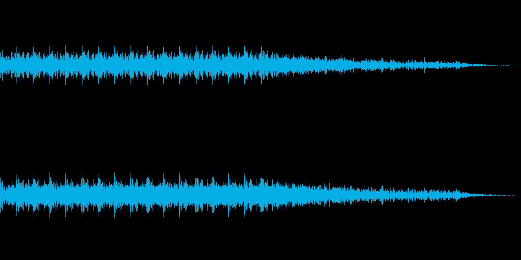 ドドドドドドの再生済みの波形