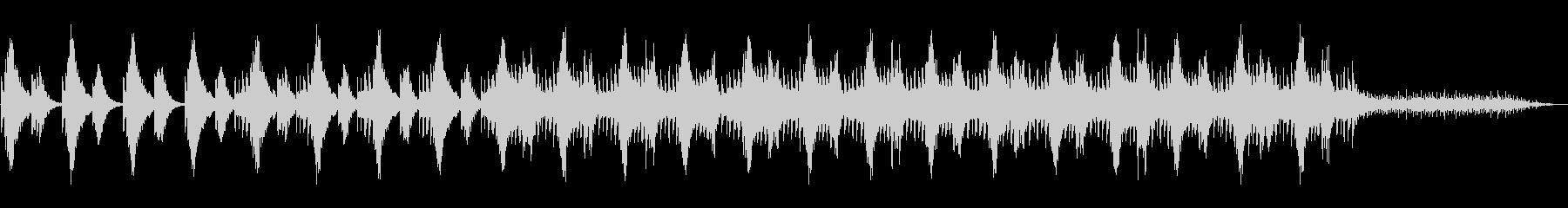 ハープ音源による切なく幻想的なミニマル。の未再生の波形