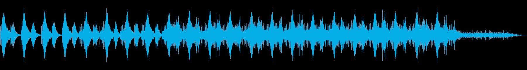 ハープ音源による切なく幻想的なミニマル。の再生済みの波形