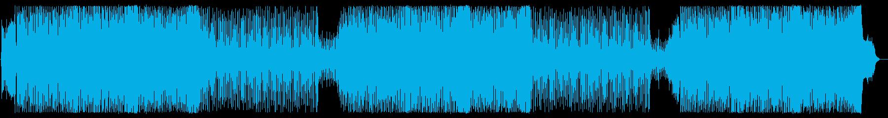 和風EDM。動画のオープニングにピッタリの再生済みの波形