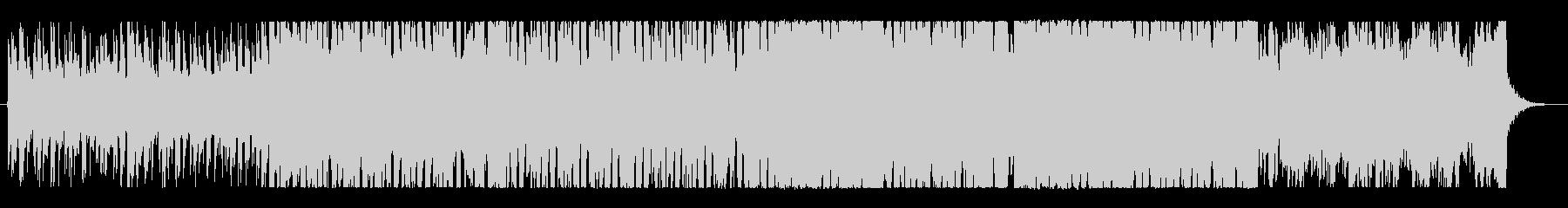 近未来的なHOUSEトラックbの未再生の波形
