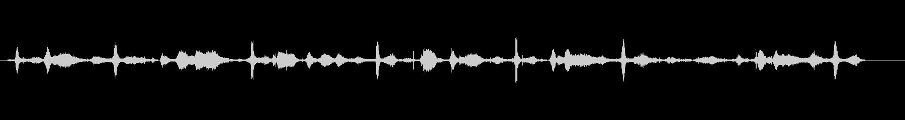 ヘイメイキング-手作業-Finge...の未再生の波形
