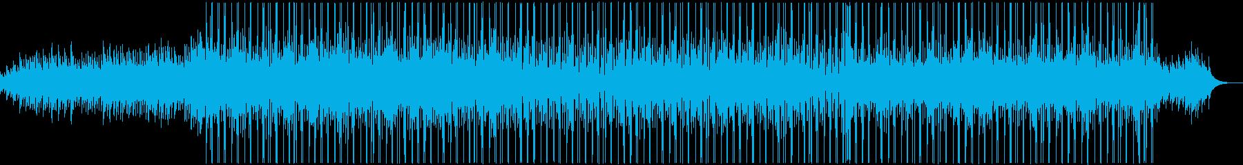 アコースティックギターの落ち着いたメロデの再生済みの波形