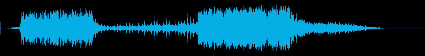 蒸気機関車2のsの再生済みの波形