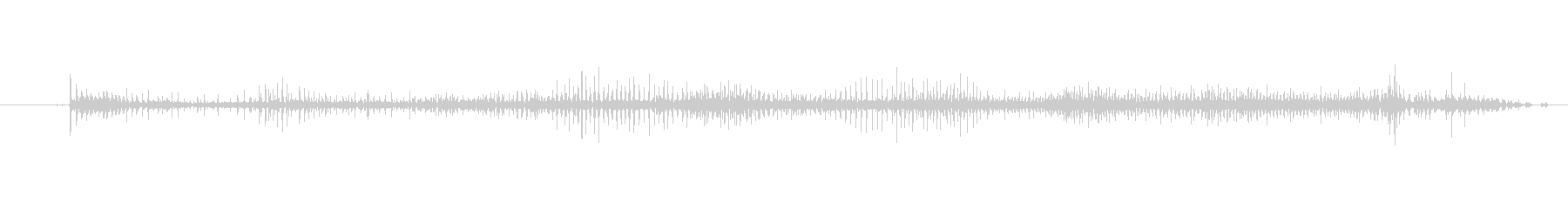 ジッパー プルオーバージャケットク...の未再生の波形