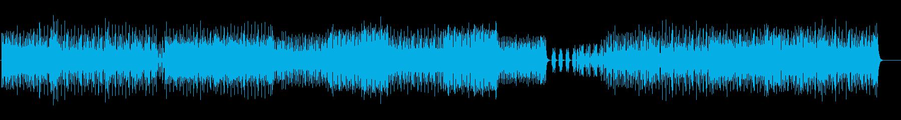 ダンス「UP TONE」の再生済みの波形