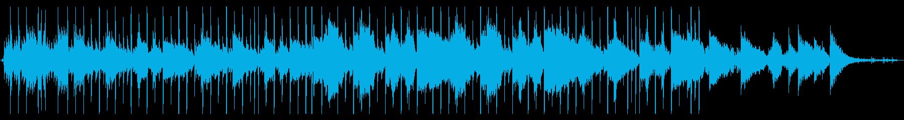 暗めのループ系Lofi-hip hopの再生済みの波形