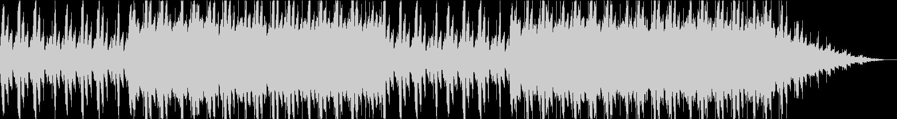 浮遊感。不思議。ピアノエレクトロニカの未再生の波形