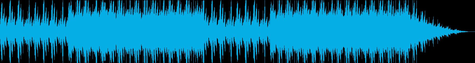 浮遊感。不思議。ピアノエレクトロニカの再生済みの波形