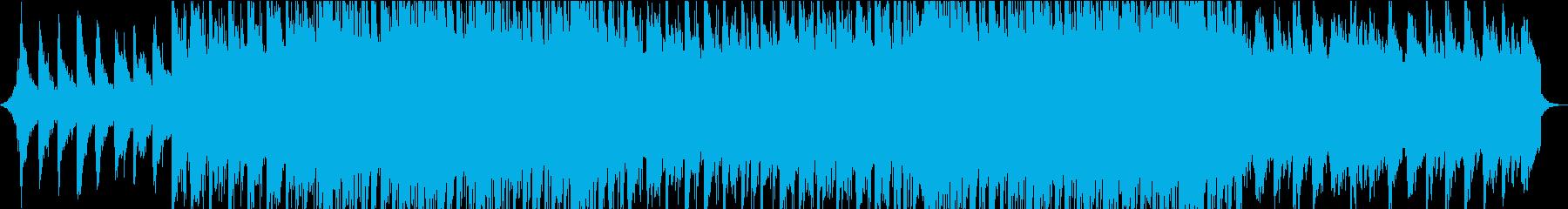 切ない・クール・ブルーな気持ち・落ち着くの再生済みの波形