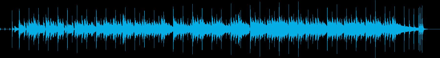 ピアノメインのほのぼのあつ森感ポップスの再生済みの波形