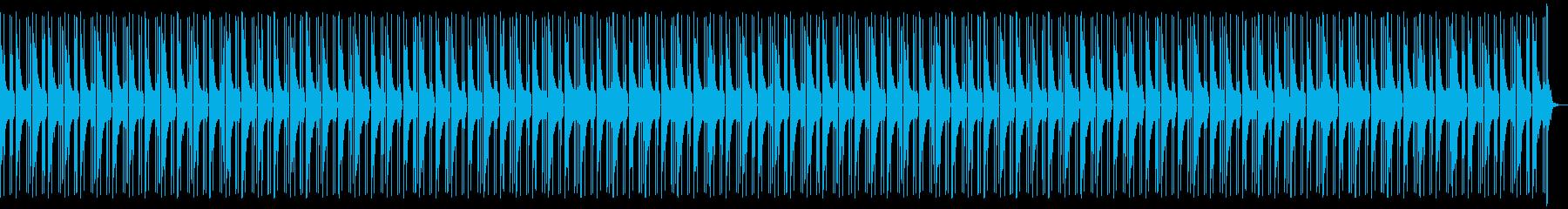 フリースタイル用ビート(あやしい雰囲気)の再生済みの波形