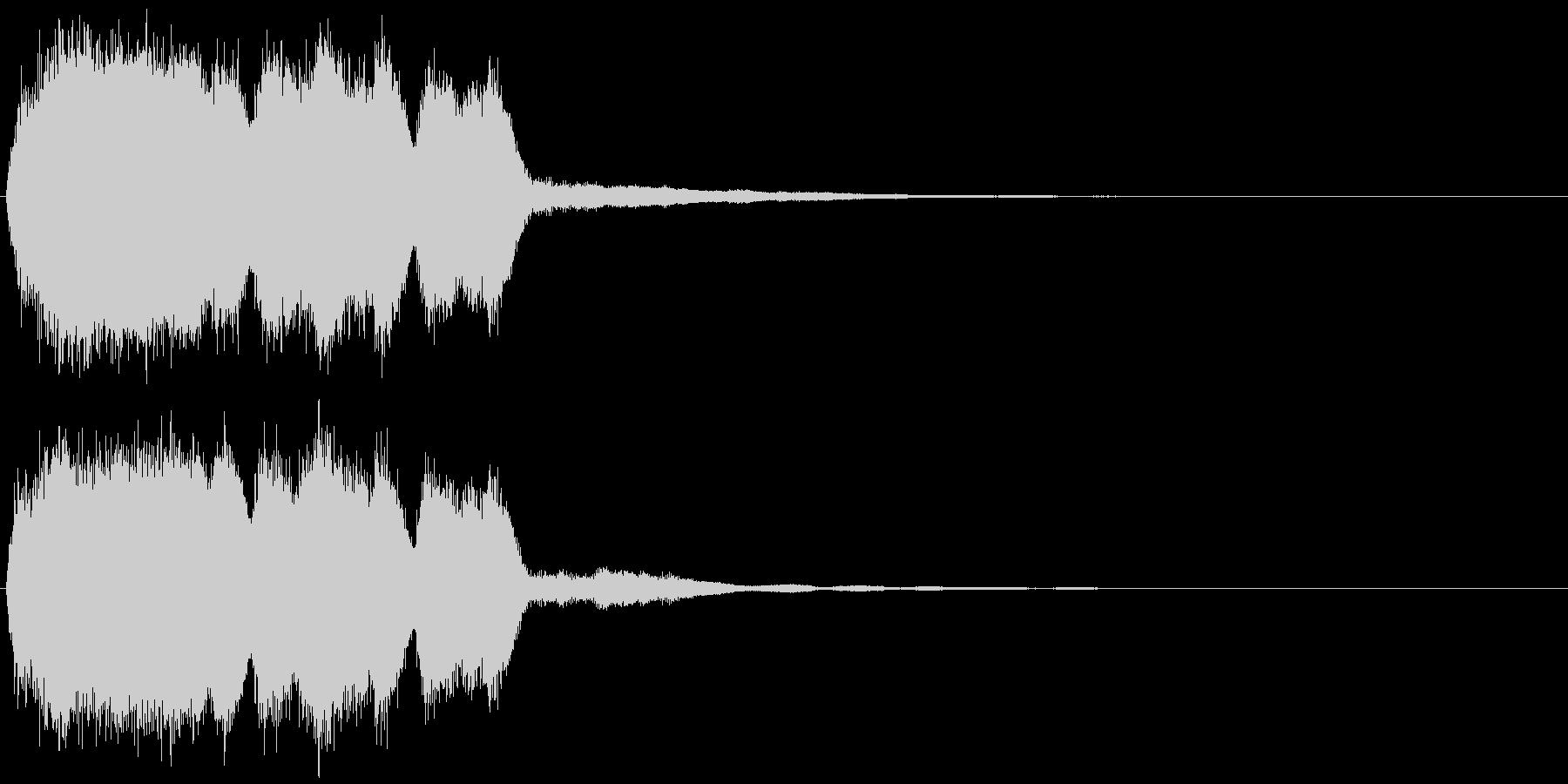 ヒュイィーン_場面やカットの変更音の未再生の波形