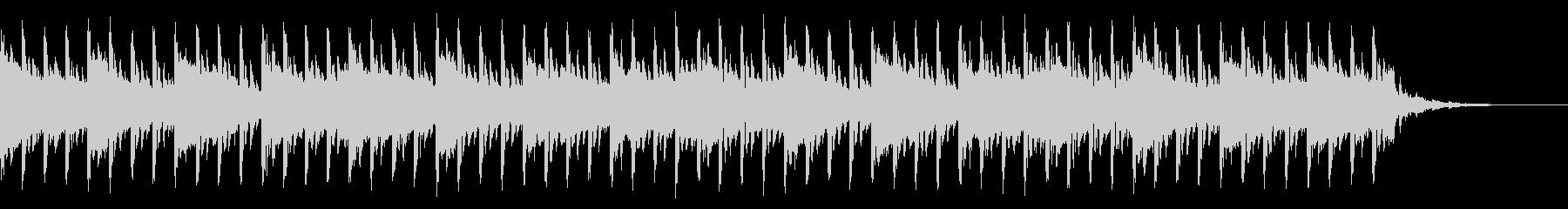 医学のインスピレーション(39秒)の未再生の波形