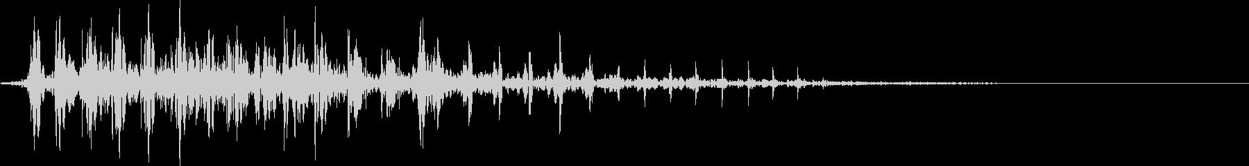 ウーピークッション:オナラ、さまざま。の未再生の波形