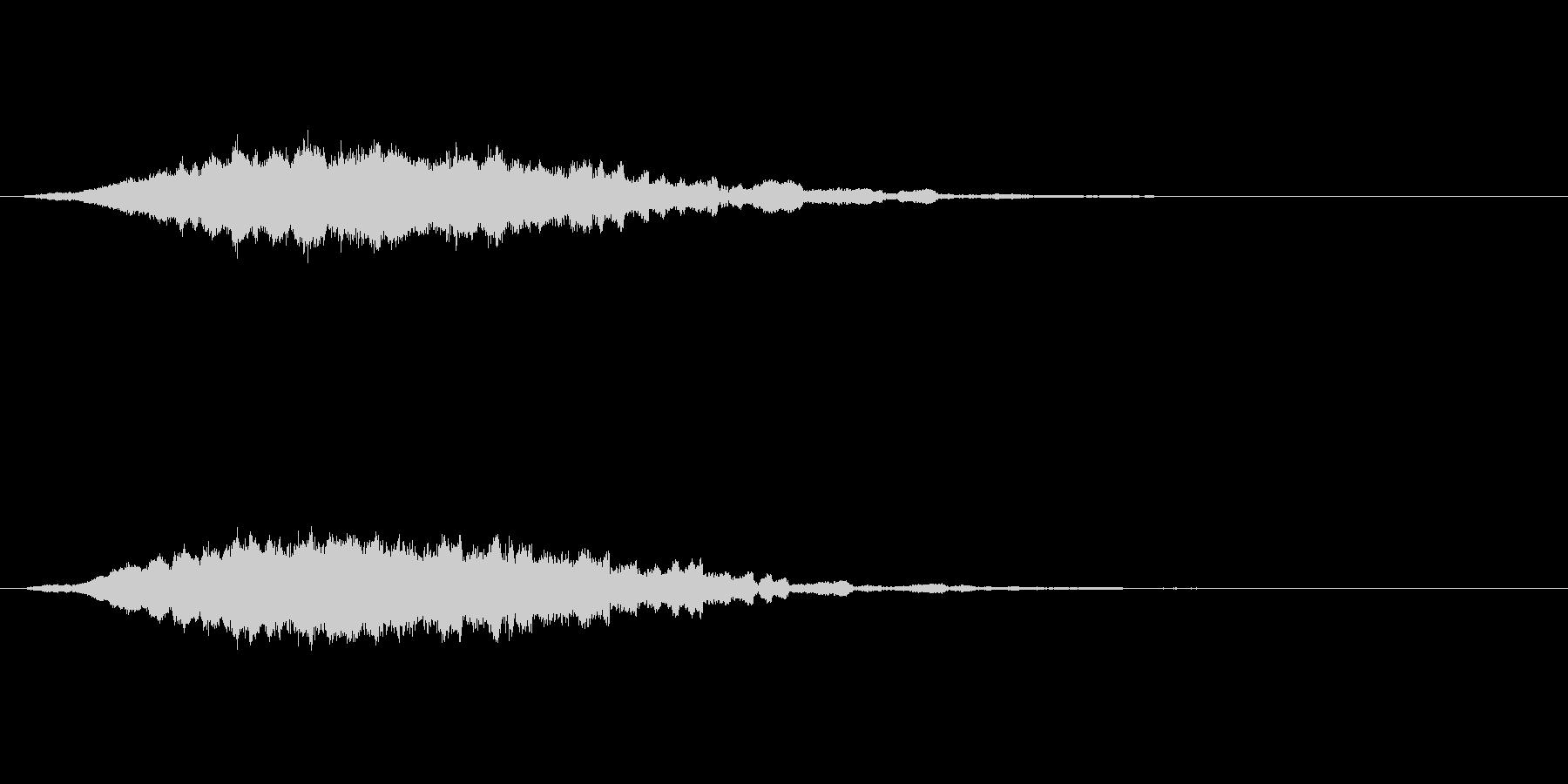 逆チャイムライトミスティックメロデ...の未再生の波形