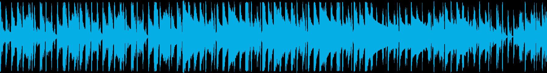 ループ、レトロゲーム、セレクト画面などの再生済みの波形