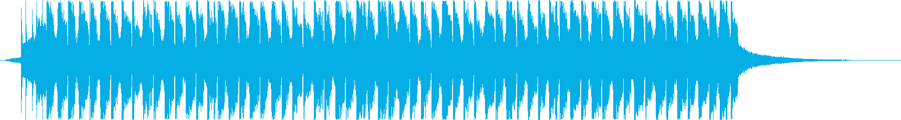 Short BGM suitable for ghosts and Halloween's reproduced waveform