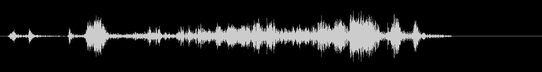 シャッター音 カメラ カシャ(効果音)の未再生の波形