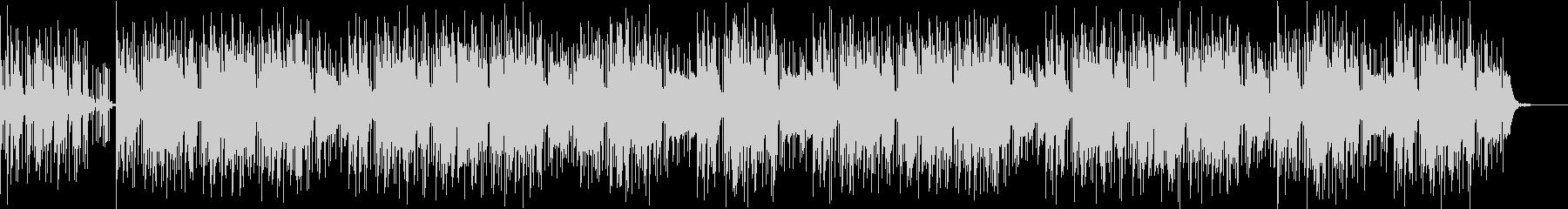 ゆったり落ち着いたヒップホップ系BGMの未再生の波形
