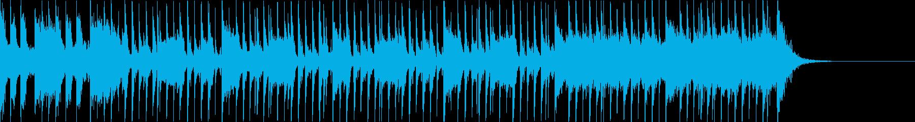 太鼓+三味線+尺八 和風FunkRockの再生済みの波形