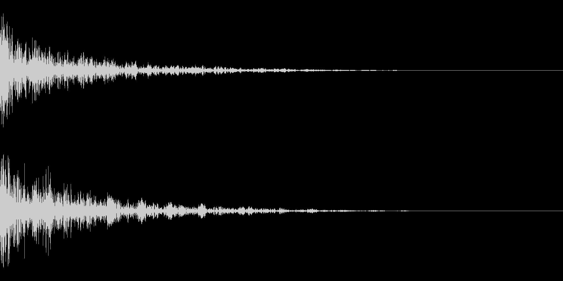 ドーン-36-2(インパクト音)の未再生の波形