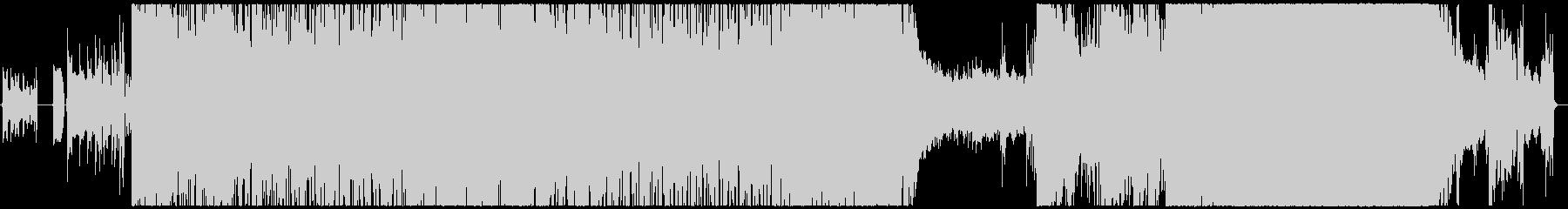 鳳と凰の未再生の波形